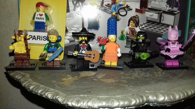 Lotto lego minifigures  20171010