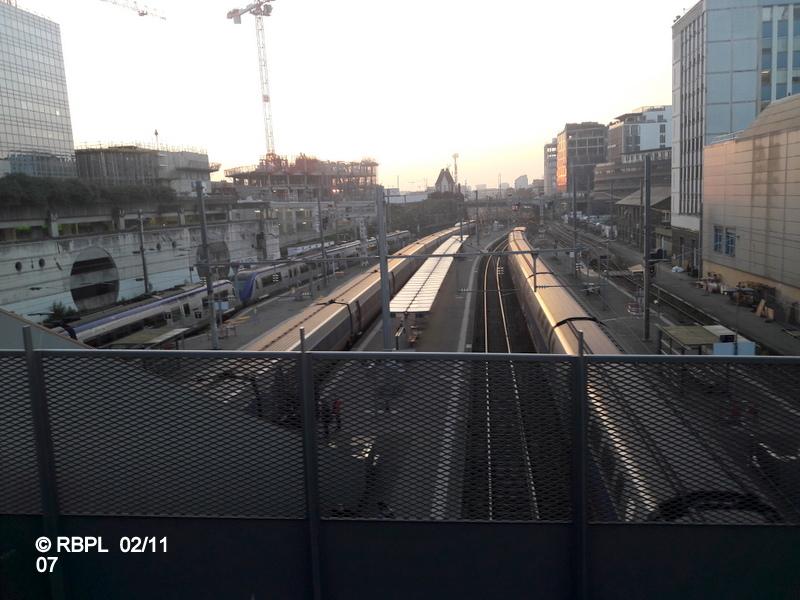 Ambiance gare de Rennes Toussaint 2017 20171129