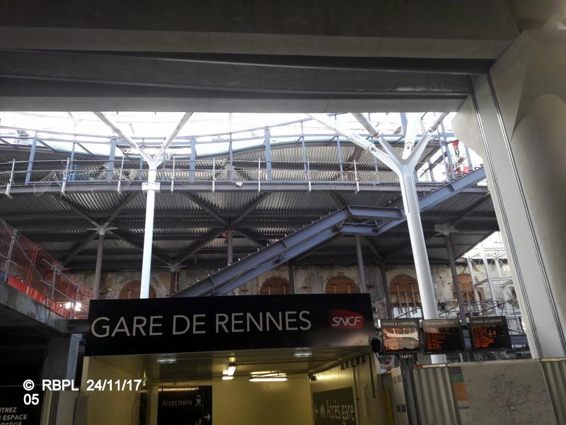 Ambiance gare de Rennes 24/11/ 2017 20171234