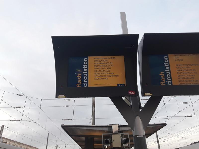 Une nouvelle panne technique interrompt le trafic à Paris-Montparnasse 20171246