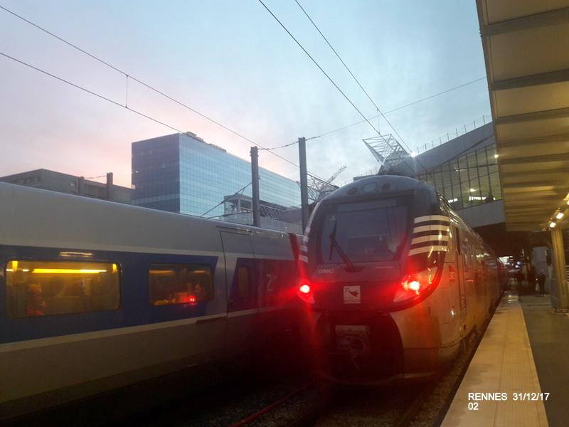 Ambiance gare de Rennes 31/12/17 20171405