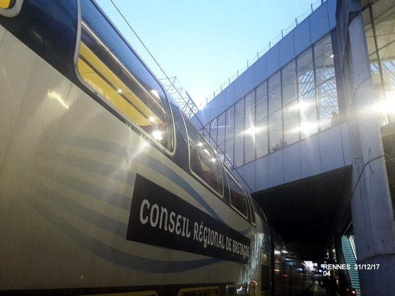 Ambiance gare de Rennes 31/12/17 20171407