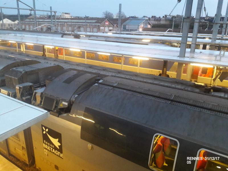 Ambiance gare de Rennes 31/12/17 20171408