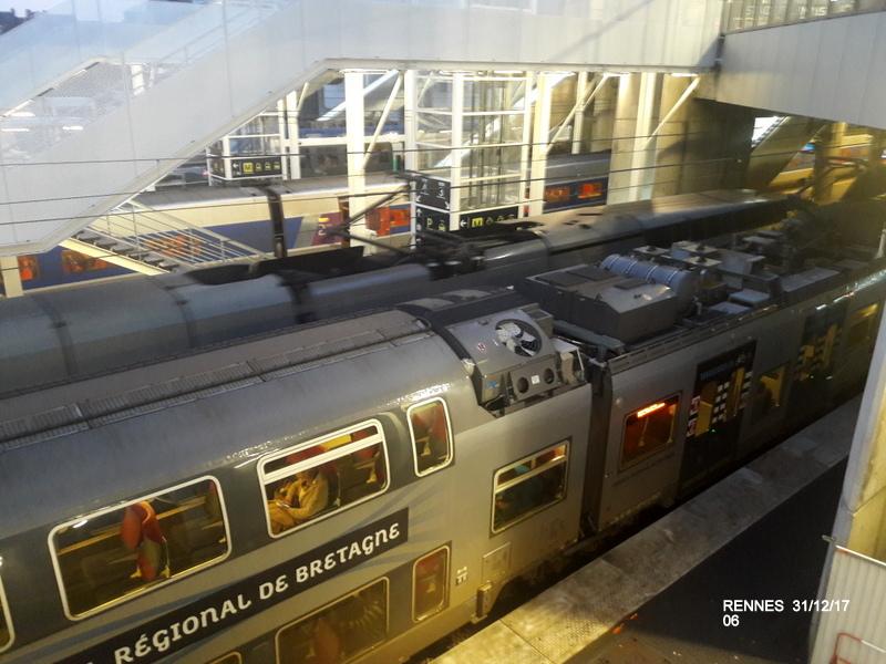 Ambiance gare de Rennes 31/12/17 20171409
