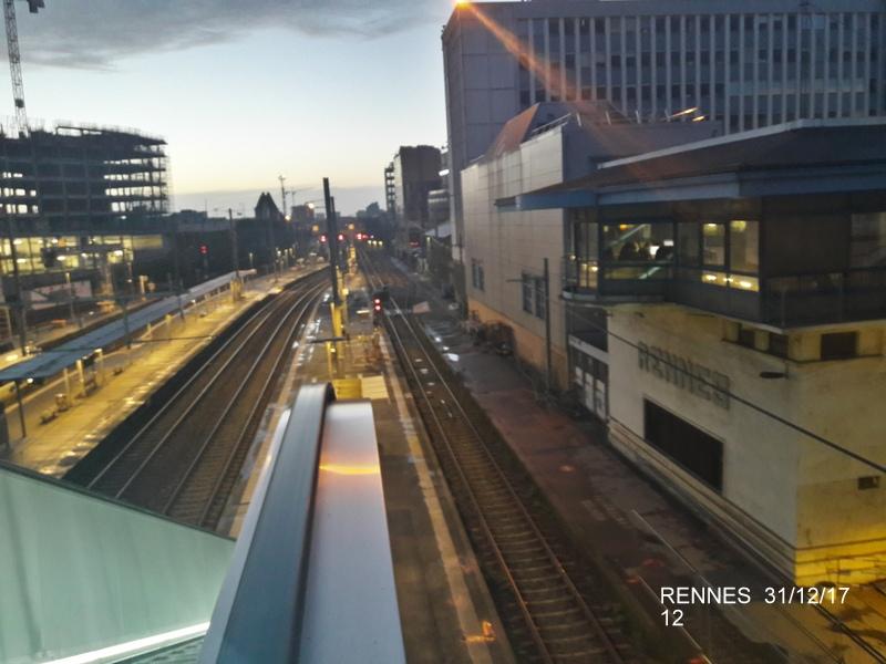 Ambiance gare de Rennes 31/12/17 20171415