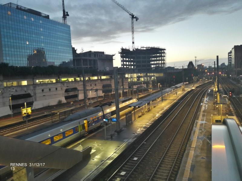 Ambiance gare de Rennes 31/12/17 20171416