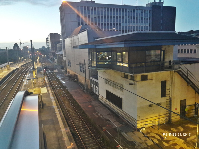 Ambiance gare de Rennes 31/12/17 20171417