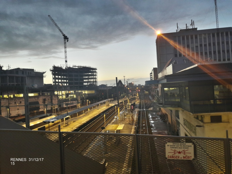 Ambiance gare de Rennes 31/12/17 20171418