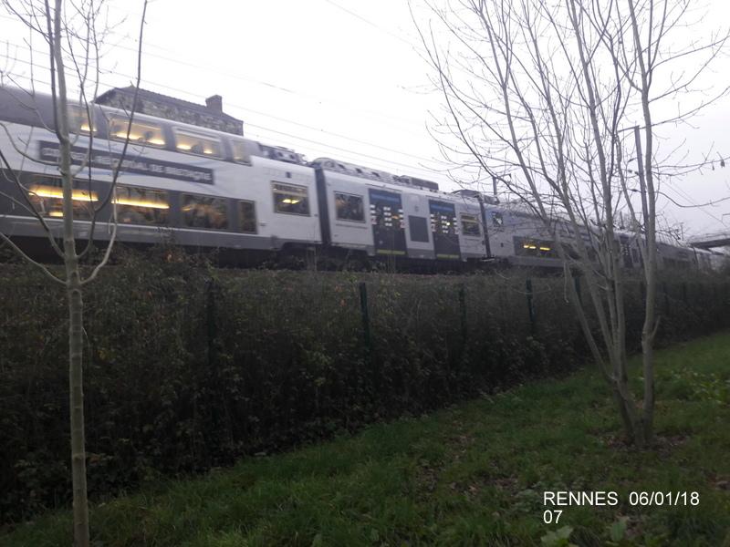 Rennes... le coin des spoters  20180116