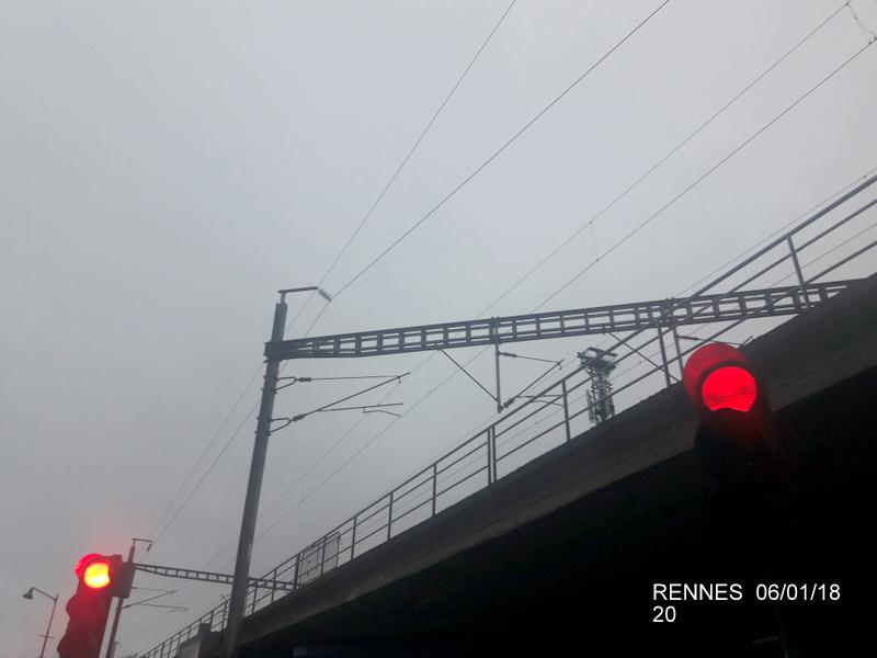 Rennes... le coin des spoters  20180129