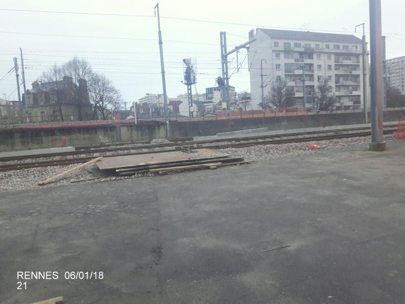 Rennes... le coin des spoters  20180130
