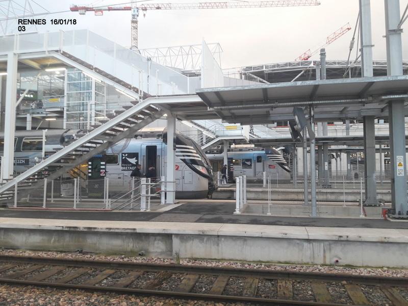 Ambiance gare de Rennes 16/01/18 ...  20180135