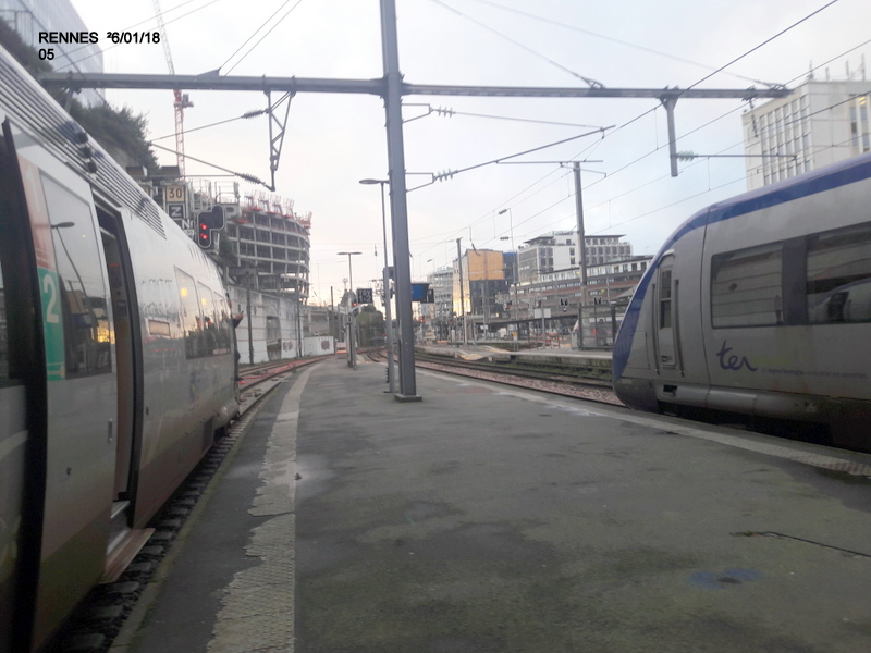 Ambiance gare de Rennes 16/01/18 ...  20180138