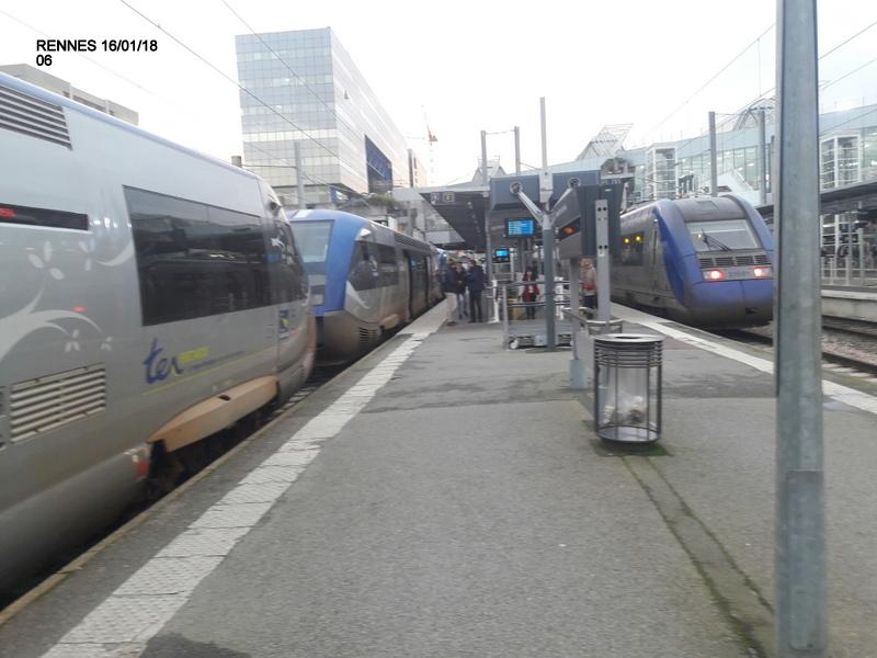 Ambiance gare de Rennes 16/01/18 ...  20180139