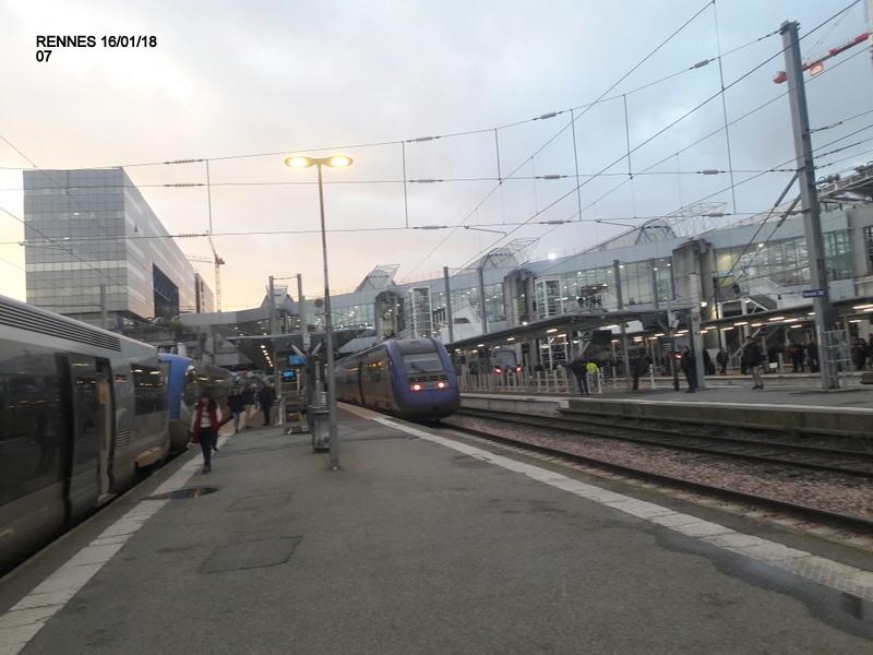 Ambiance gare de Rennes 16/01/18 ...  20180140