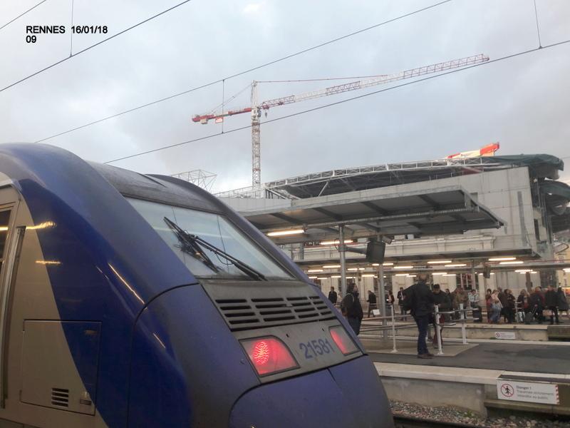 Ambiance gare de Rennes 16/01/18 ...  20180141