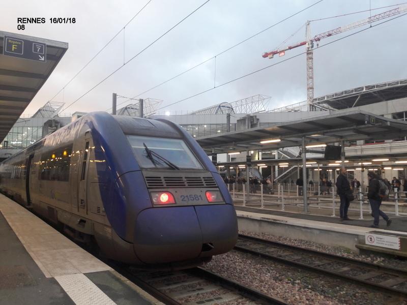 Ambiance gare de Rennes 16/01/18 ...  20180142