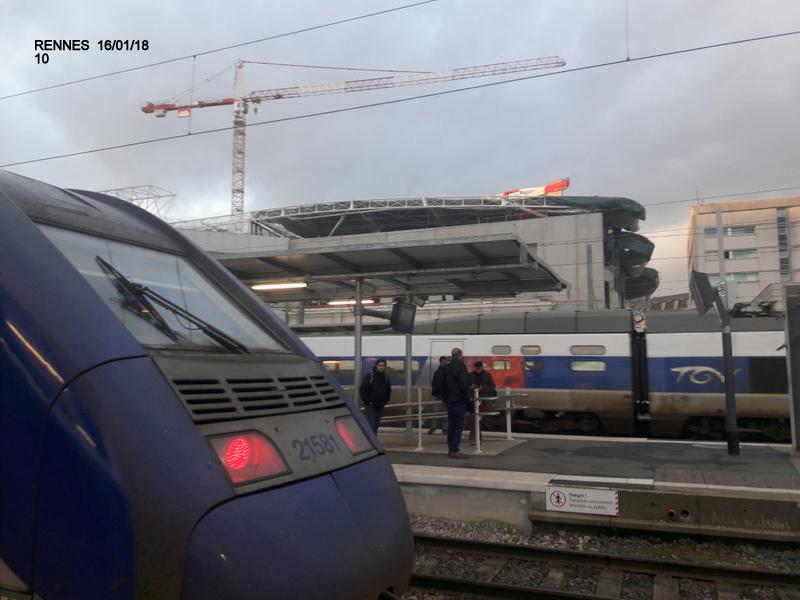 Ambiance gare de Rennes 16/01/18 ...  20180143