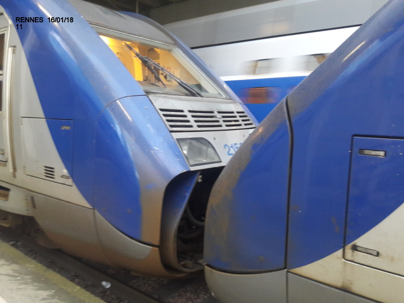 Ambiance gare de Rennes 16/01/18 ...  20180144