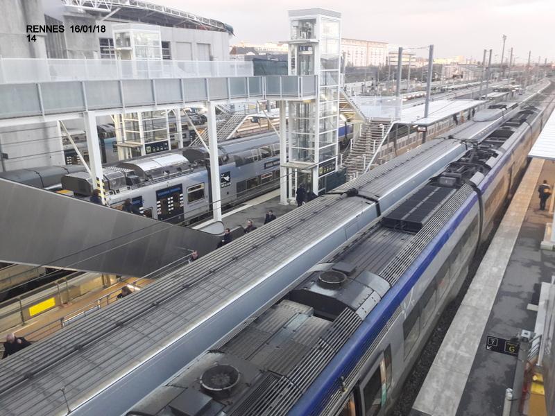 Ambiance gare de Rennes 16/01/18 ...  20180147