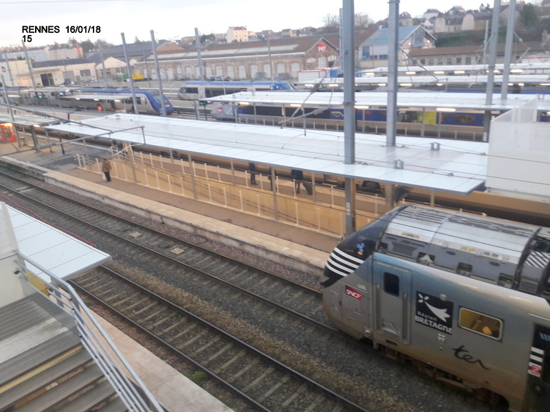 Ambiance gare de Rennes 16/01/18 ...  20180148
