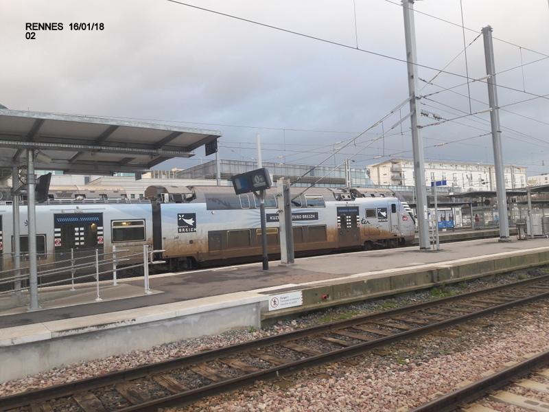 Ambiance gare de Rennes 16/01/18 ...  20180149