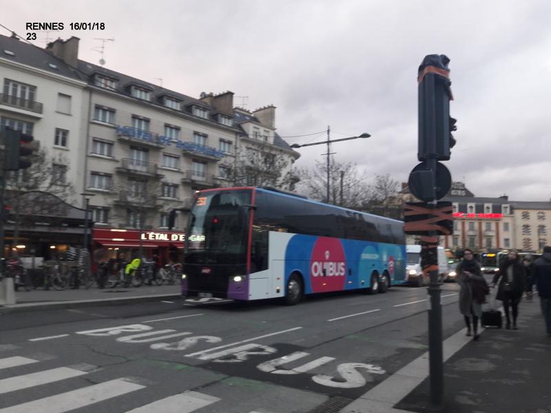 Ambiance gare de Rennes 16/01/18 ...  20180155