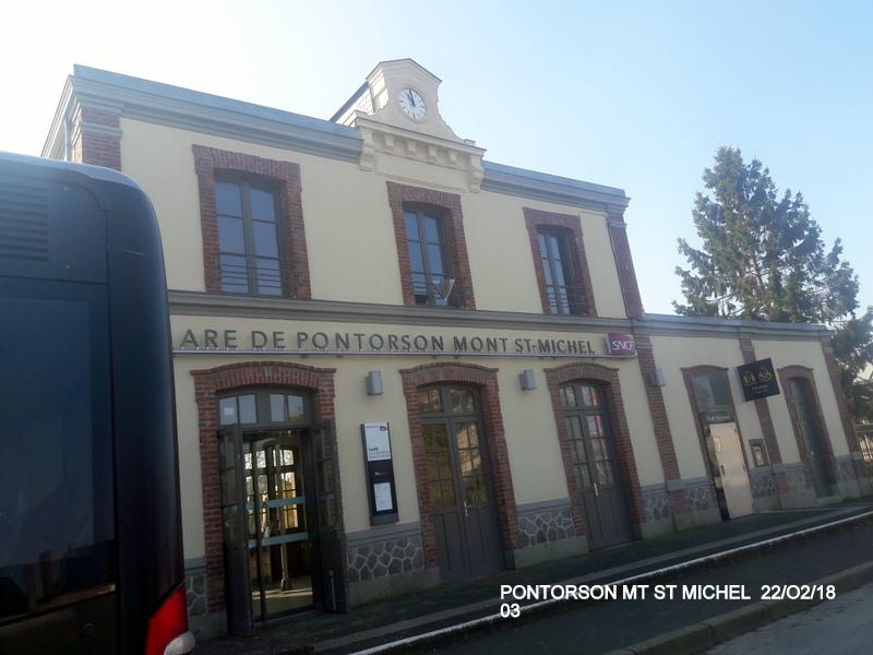 Balade sur  Pontorson, Pleine Fougère et Dol (dépose.Voie 1) 22/02/2018 20180465
