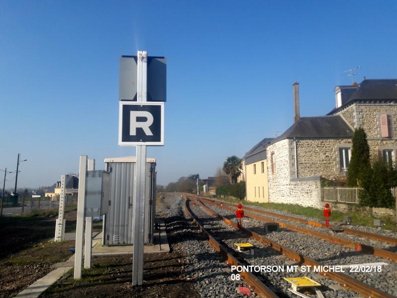 Balade sur  Pontorson, Pleine Fougère et Dol (dépose.Voie 1) 22/02/2018 20180470
