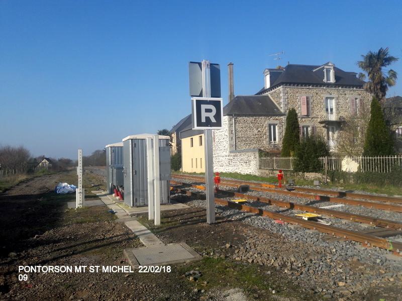 Balade sur  Pontorson, Pleine Fougère et Dol (dépose.Voie 1) 22/02/2018 20180471