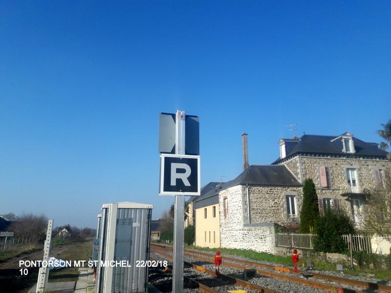 Balade sur  Pontorson, Pleine Fougère et Dol (dépose.Voie 1) 22/02/2018 20180472
