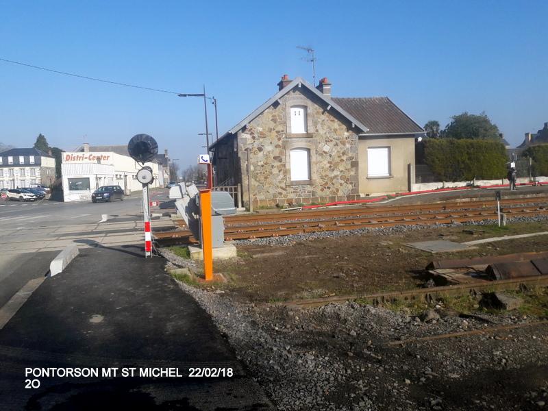 Balade sur  Pontorson, Pleine Fougère et Dol (dépose.Voie 1) 22/02/2018 20180482