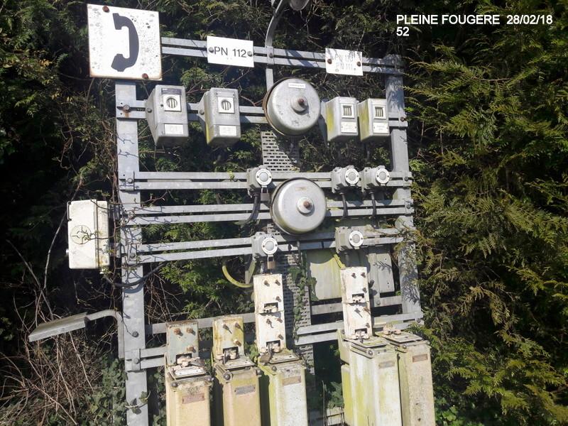 Balade sur  Pontorson, Pleine Fougère et Dol (dépose.Voie 1) 22/02/2018 20180516
