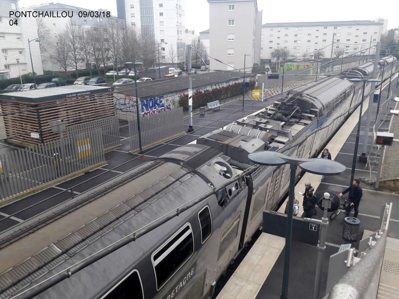 Halte de Pontchaillou (Ligne Rennes-St Malo) [09/03/18] 20180765