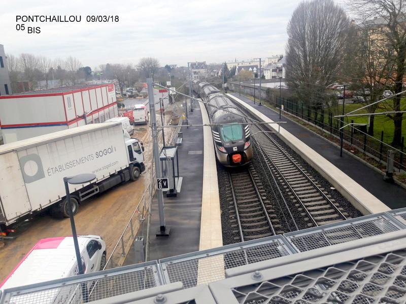 Halte de Pontchaillou (Ligne Rennes-St Malo) [09/03/18] 20180766