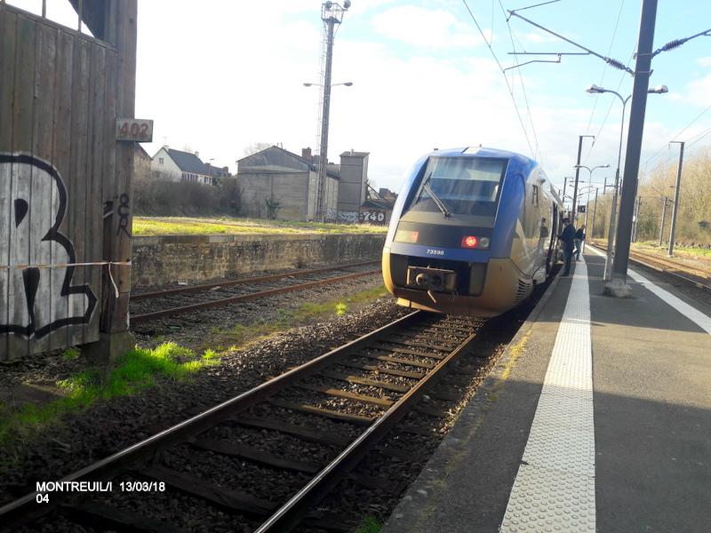Gare de Montreuil/I (ligne Rennes-St Malo) 13/03/18 20180775