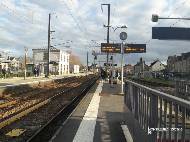 Gare de Montreuil/I (ligne Rennes-St Malo) 13/03/18 20180784