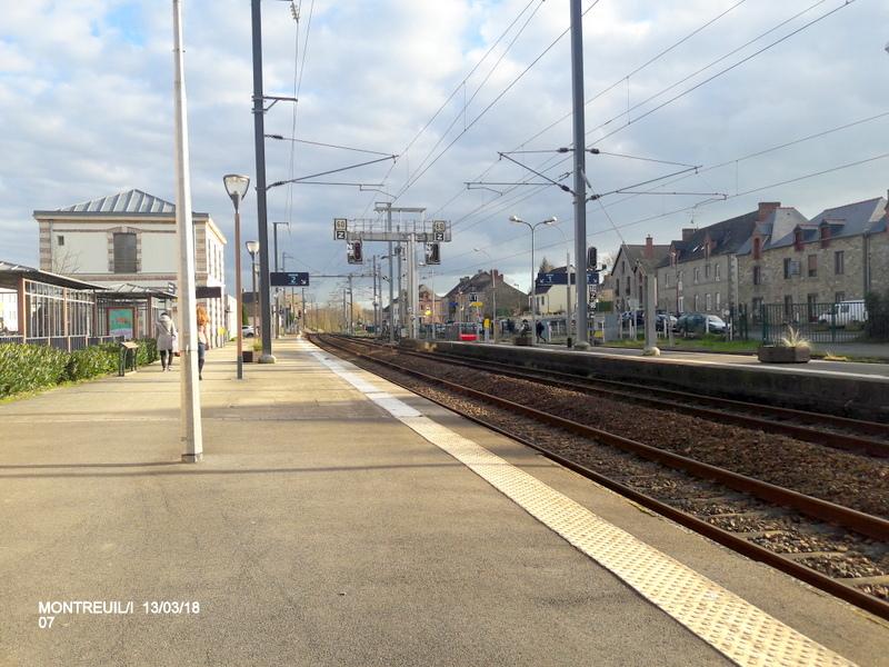 Gare de Montreuil/I (ligne Rennes-St Malo) 13/03/18 20180785