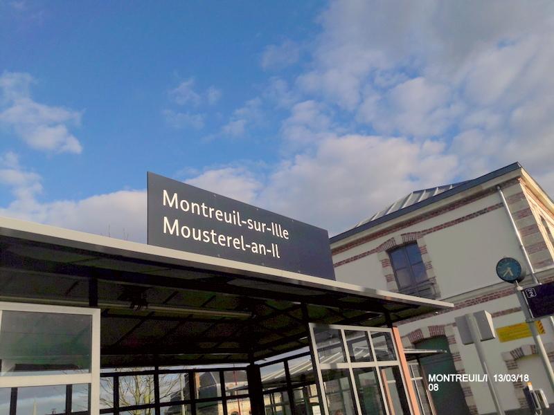 Gare de Montreuil/I (ligne Rennes-St Malo) 13/03/18 20180786