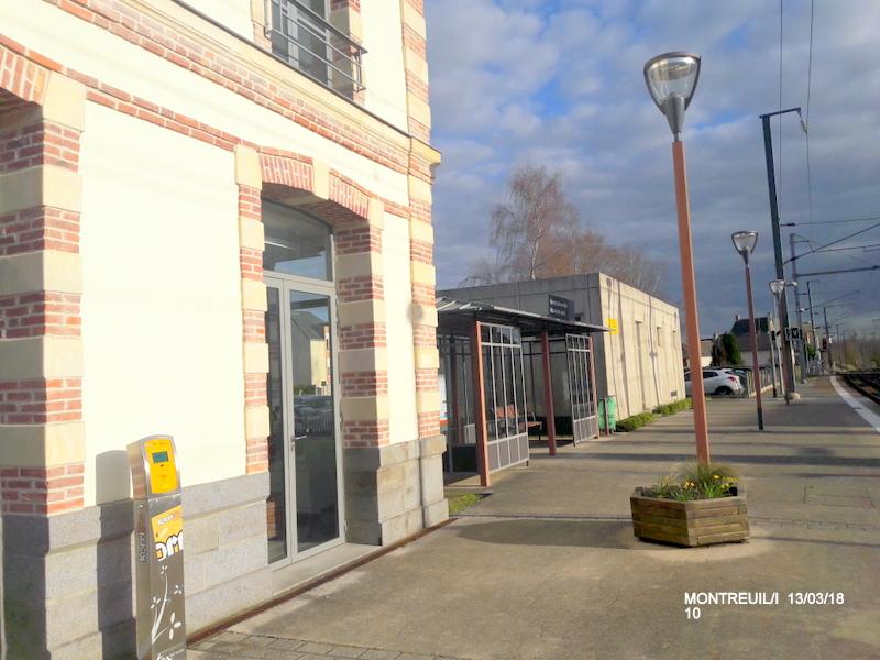 Gare de Montreuil/I (ligne Rennes-St Malo) 13/03/18 20180788