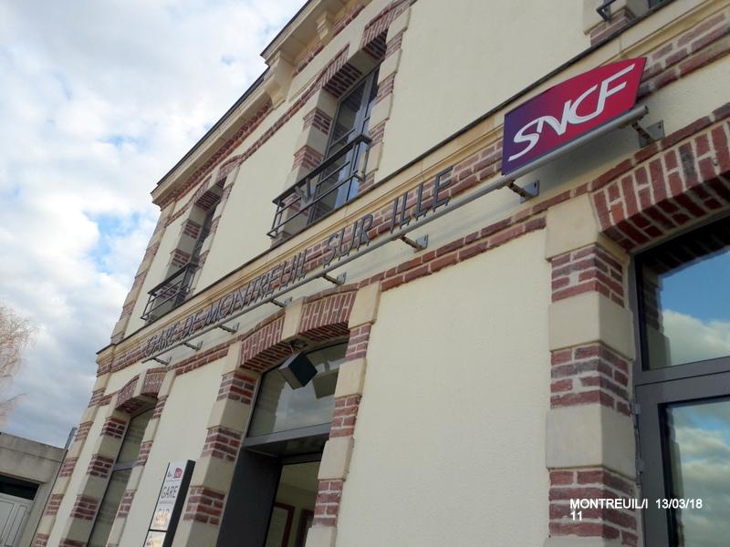 Gare de Montreuil/I (ligne Rennes-St Malo) 13/03/18 20180789