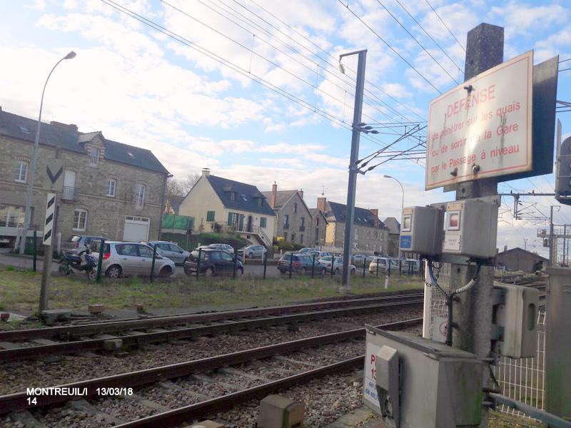 Gare de Montreuil/I (ligne Rennes-St Malo) 13/03/18 20180793