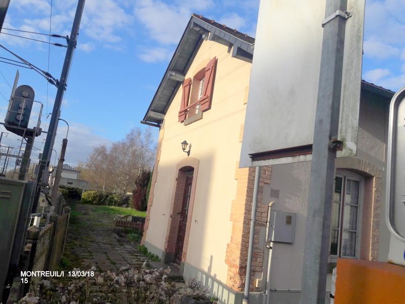 Gare de Montreuil/I (ligne Rennes-St Malo) 13/03/18 20180794