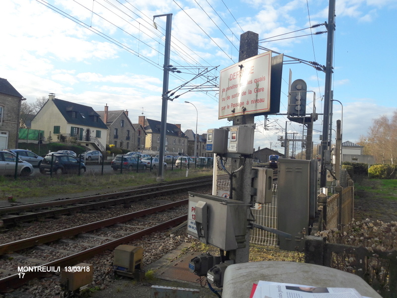 Gare de Montreuil/I (ligne Rennes-St Malo) 13/03/18 20180796
