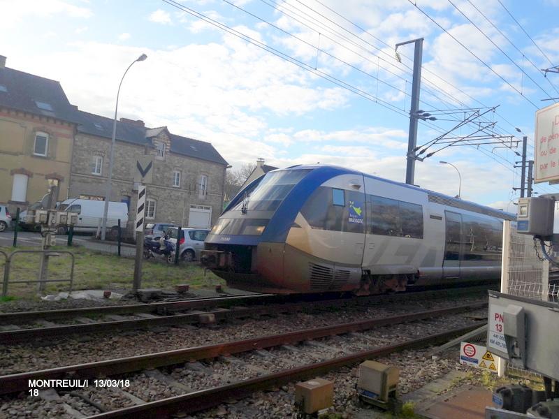 Gare de Montreuil/I (ligne Rennes-St Malo) 13/03/18 20180797