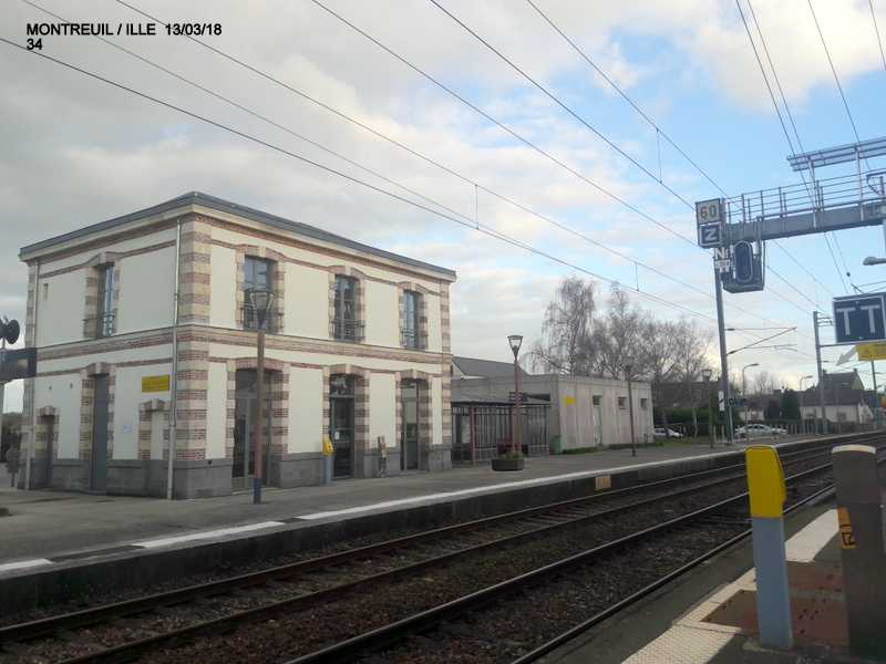 Gare de Montreuil/I (ligne Rennes-St Malo) 13/03/18 20180815
