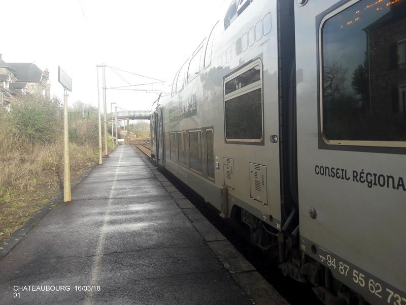 Gare de Châteaubourg [16/03/18] 20180867