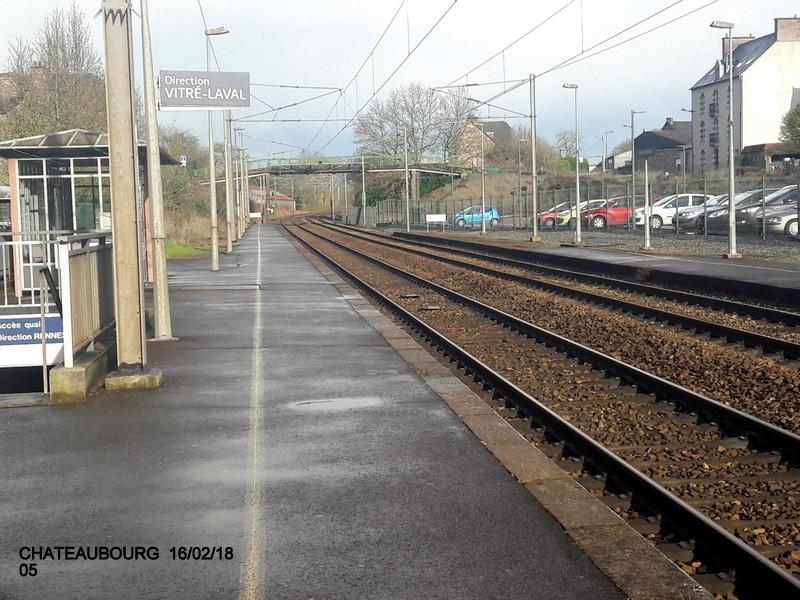 Gare de Châteaubourg [16/03/18] 20180870