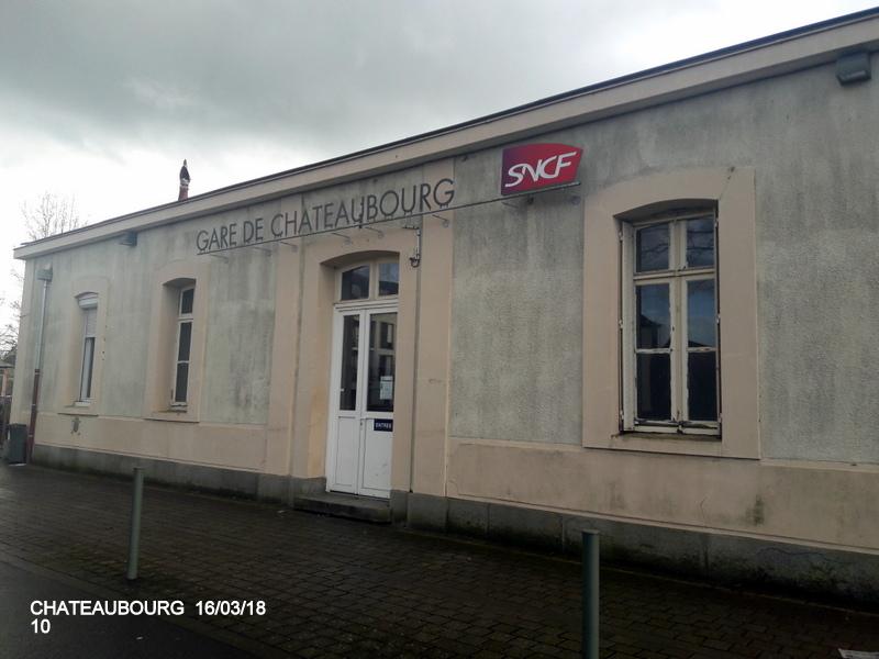 Gare de Châteaubourg [16/03/18] 20180876
