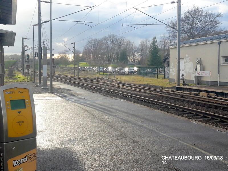 Gare de Châteaubourg [16/03/18] 20180880